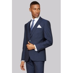 DKNY Slim Fit Indigo Mohair Look Jacket found on Bargain Bro UK from Moss Bros Retail
