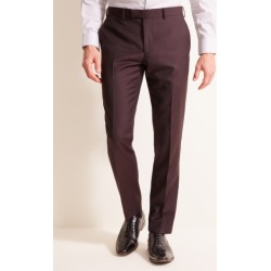 DKNY Slim Fit Burgundy Trousers found on Bargain Bro UK from Moss Bros Retail