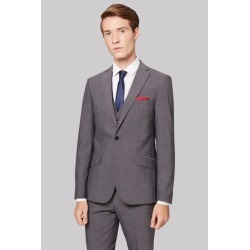 Moss London Skinny Fit Grey Tonic City Suit Jacket found on Bargain Bro UK from Moss Bros Retail