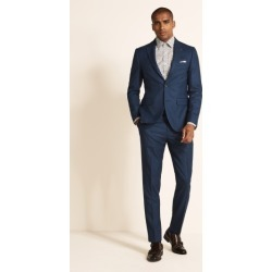 Ted Baker Slim Fit Blue with Purple Check Jacket found on Bargain Bro UK from Moss Bros Retail