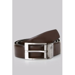 Ted Baker Black Connary Reversible Prong Buckle Belt found on Bargain Bro UK from Moss Bros Retail