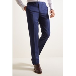 Ted Baker Tailored Fit Bright Blue Pindot Trousers found on Bargain Bro UK from Moss Bros Retail