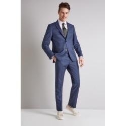 DKNY Slim Fit Ocean Blue Jacket found on Bargain Bro UK from Moss Bros Retail