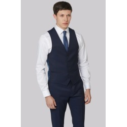 DKNY Slim Fit Ink Twill Waistcoat found on Bargain Bro UK from Moss Bros Retail