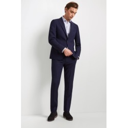 DKNY Slim Fit Blue Check Suit Jacket found on Bargain Bro UK from Moss Bros Retail