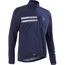 Rc500 Waterproof Membrane Cycling Jacket - Navy Blue found on Bargain Bro UK from Decathlon