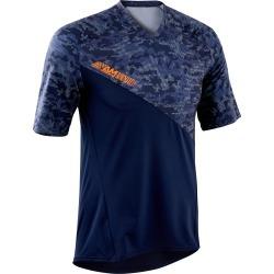 All-mountain Short-sleeved Mountain Bike Jersey - Blue