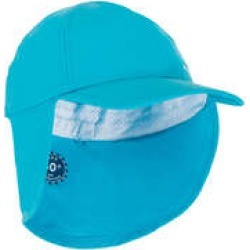 Decathlon Nabaiji Baby Swimming Uv Protection Cap - Blue found on Makeup Collection from Decathlon for GBP 4.42