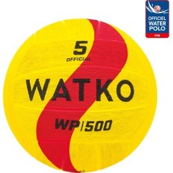 Water Polo Ball Wp500 Size 5 - Yellow Red found on Bargain Bro UK from Decathlon