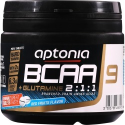 Bcaa 2.1.1 + Glutamine Chewable Tablets X 90 Red Berries found on Bargain Bro UK from Decathlon