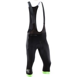 3/4 Mid-length Shorts, Xc Mountain Bike With Straps, Black And Neon Pro Fit found on Bargain Bro UK from Decathlon