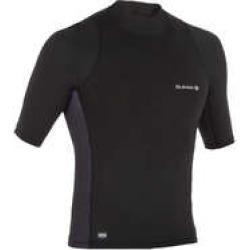 Decathlon Olaian 500 Men's Short-Sleeved Uv-Protection Surfing T-Shirt - Black found on Bargain Bro UK from Decathlon