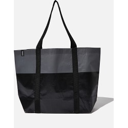 Cotton On Foundation - Foundation Recycled Large Shopper - Black tonal