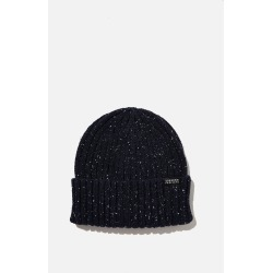 Cotton On Men - Nordic Beanie - Navy nep/unknown projects