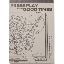 Typo - Artists Assistant Colouring In Book - Press play