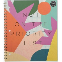 Typo - College Ruled Campus Notebook - Priority list