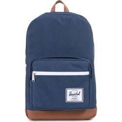 Herschel Supply Co - Herschel Pop Quiz Backpack - Navy/tan synthetic leather found on MODAPINS from cotton on for USD $114.81