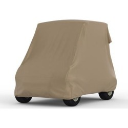 Yamaha The Drive2 Fleet Electric AC Covers - Weatherproof, Guaranteed Fit, Water Resistant, Outdoor, 10 Yr Warranty Golf Cart Cover. Year: 2019 found on Bargain Bro India from carcovers.com for $159.95