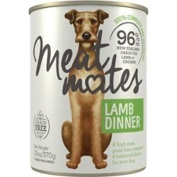 Meat Mates Lamb Dinner Grain-Free Canned Wet Dog Food, 13-oz, case of 12 found on Bargain Bro India from Chewy.com for $39.51