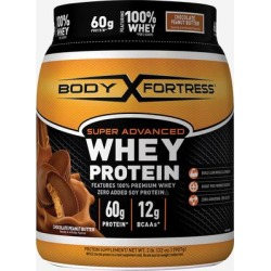 Body Fortress Super Advanced Whey Protein Chocolate Peanut Butter-2 lbs Powder