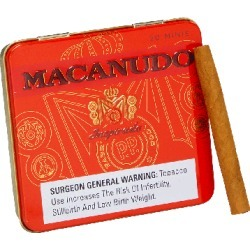 Macanudo Inspirado Orange Cigarillos - Pack of 20 found on Bargain Bro India from thompsoncigar.com for $10.00
