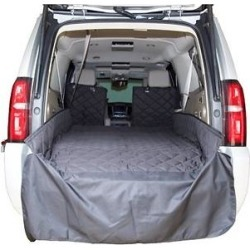 Plush Paws Products Waterproof Quilted SUV Cargo Liner, Black, X-Large