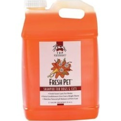 Top Performance Fresh Pet Shampoo for Dogs & Cats, Fresh Scent, 2.5-gallon concentrate bottle found on Bargain Bro India from Chewy.com for $64.99