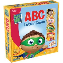 Super WHY ABC Letter Game by Briarpatch