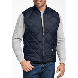 Dickies Men's Diamond Quilted Nylon Vest - Dark Navy Size XL XL (TE242) found on Bargain Bro India from Dickies.com for $34.99