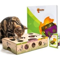 Cat Amazing Best Cat Toy Ever! Interactive Treat Maze & Puzzle Toy found on Bargain Bro India from Chewy.com for $15.94