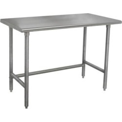 "Advance Tabco TMSLAG-304-X 48"" x 30"" 16 Gauge Professional Stainless Steel Work Table"