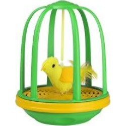 Pet Zone Caged Canary Interactive Cat Toy found on Bargain Bro India from Chewy.com for $17.99