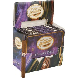 Tatiana Flavored Cigarillos Groovy Blue - PACK (50) found on Bargain Bro India from thompsoncigar.com for $99.99