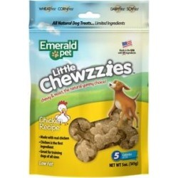 Emerald Pet Little Chewzzies Chicken Recipe Dog Treats, 5-oz bag found on Bargain Bro India from Chewy.com for $5.99