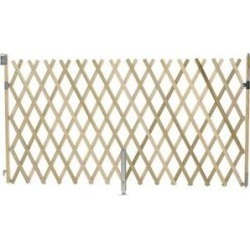 GMI Keepsafe Wooden Expanding Pet Gate, 5-ft wide found on Bargain Bro India from Chewy.com for $54.99
