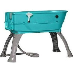 LOW PRICE Booster Bath Elevated Dog Bathing and Grooming Center, Large, Teal
