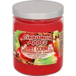 Pet Odor Exterminator Cinnamon Apple Deodorizing Candle, 13-oz jar found on Bargain Bro India from Chewy.com for $12.61