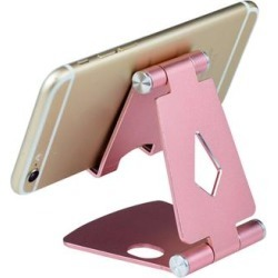Shou Docking Stations Rose - Rose Gold Foldable Mobile Phone Tablet Stand found on Bargain Bro Philippines from zulily.com for $9.99
