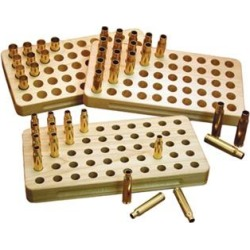 Sinclair International Stalwart Wooden Loading Blocks - 44 Magnum 50 Round Loading Block found on Bargain Bro Philippines from brownells.com for $9.99