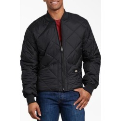 Dickies Men's Big & Tall Dickies Men's Big & Tall Diamond Quilted Nylon Jacket - Black Size 3Xl - Black Size 3XL (61242) found on Bargain Bro India from Dickies.com for $43.99