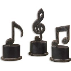 Uttermost Music Notes Figurine - 19280