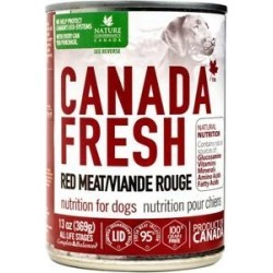 Canada Fresh Red Meat Canned Dog Food, 13-oz, case of 12