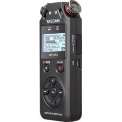 Tascam DR 05X Stereo Handheld Recorder/USB Interface found on Bargain Bro from Crutchfield for USD $68.39