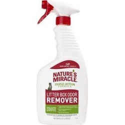 Nature's Miracle Cat Litter Box Odor Remover Spray, 24-oz bottle found on Bargain Bro India from Chewy.com for $7.99