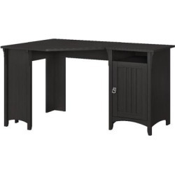 Bush Furniture Salinas 55W Corner Desk w/ Storage in Vintage Black - Bush Furniture SAD155VB-03 found on Bargain Bro India from totally furniture for $210.09