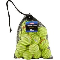 Tourna Pressureless Tennis Balls Dog Toy, 18 count found on Bargain Bro India from Chewy.com for $15.88