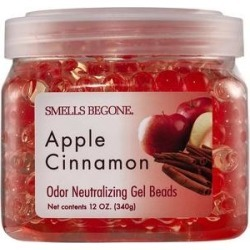 Smells Begone Apple Cinnamon Odor Neutralizing Gel Beads, 12-oz jar
