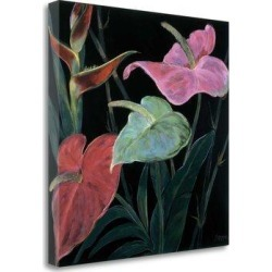 Tangletown Fine Art 'In Bloom II' Graphic Art Print on Wrapped Canvas CAHPP101-2020c Size: 35