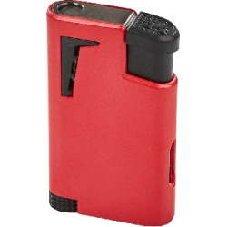 Xikar Single Jet Flame Lighter Red - Red found on Bargain Bro India from thompsoncigar.com for $34.99