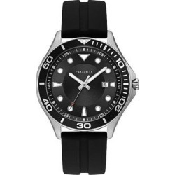 Caravelle by Bulova Men's Watch - 43B154, Size: Large, Black found on MODAPINS from Kohl's for USD $125.00